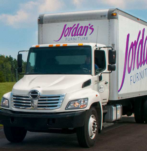 Safe Delivery and Pick Up options at Jordan's Furniture located in CT, MA, NH and RI!