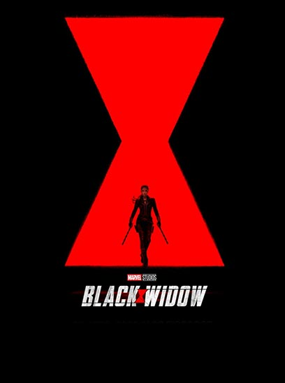 See Black Widow in the Sunbrella IMAX Theater at Jordan's Furniture in Natick and Reading MA
