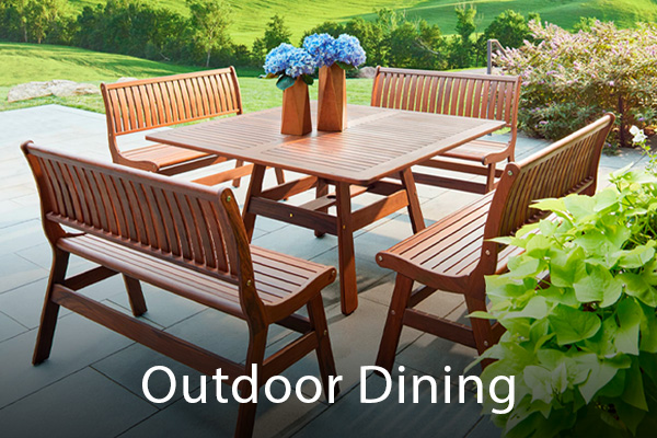 In-Stock Outdoor Dining Sets  ready for immediate delivery - Shop Now
