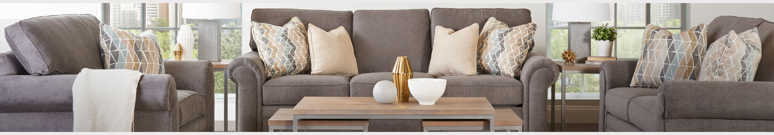 Living Room furniture for sale at Jordan's Furniture stores in MA, NH and RI