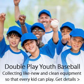 Double Play Youth Baseball program - Jordan's Furniture