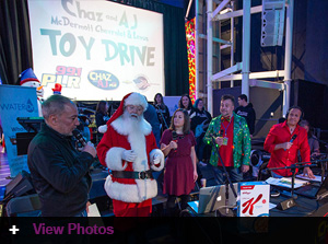 Chaz And Aj, In 4.5 Hours, Raised A Record Breaking 192,638.56 In Toys And Cash For Connecticut Children's Charities