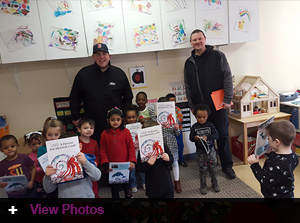 Jordan's Furniture delivers to local Head Start Programs. Over 550 gifts donated by the J-Team for the 2018 holiday season