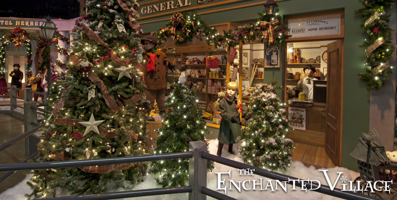 the enchanted village opens november 13 - Christmas Events In Boston 2014