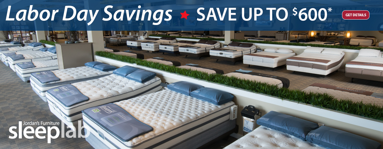 Save Up To $600 On Select Mattresses At Jordanu0027s Furniture Stores In CT,  MA, ...