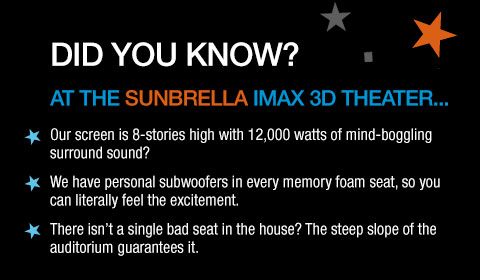 Sunbrella IMAX Theaters at Jordan's Furniture in Natick and Reading