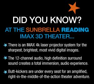 Ticket Price Information For The Sunbrella Imax Theaters At Jordan S