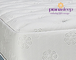 Prana mattresses at Jordan's Furniture stores in CT, MA, NH, and RI