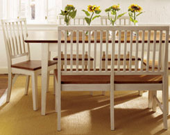 Dining room sets for sale at Jordan's Furniture stores in MA, NH and RI