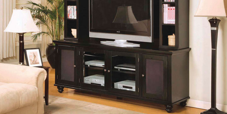 Entertainment room furniture for sale at Jordan's Furniture stores in MA, NH and RI