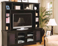Entertainment centers for sale at Jordan's Furniture stores in MA, NH and RI