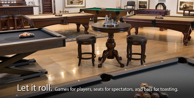 Game Room furniture for sale at Jordan's Furniture stores in MA, NH and RI