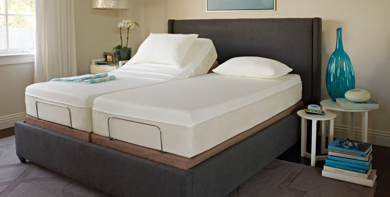 Adustable Foundations Available from Jordan's SleepLab at Jordan's Furniture