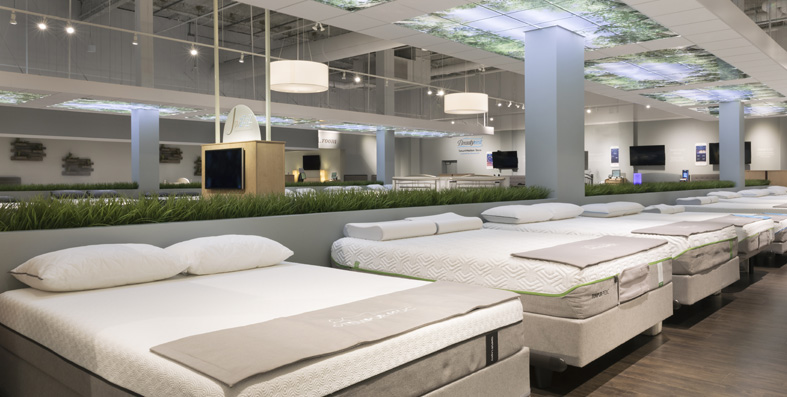 Shop by mattress type at Jordan's Furniture stores in CT, MA, NH and RI
