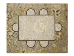 5x8 round Dining Room area rug on sale at Jordan's Furniture stores in CT, MA, NH, and RI