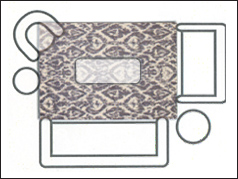 5x8 Living Room area rug on sale at Jordan's Furniture stores in CT, MA, NH, and RI