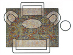 8x10 Living Room area rug on sale at Jordan's Furniture stores in CT, MA, NH, and RI