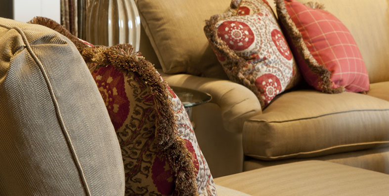 Upholstery Fabric And Cushions