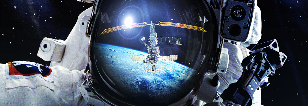 Space Station in the Sunbrella IMAX 3D movie theaters at Jordan's Furniture in Natick and Reading Ma