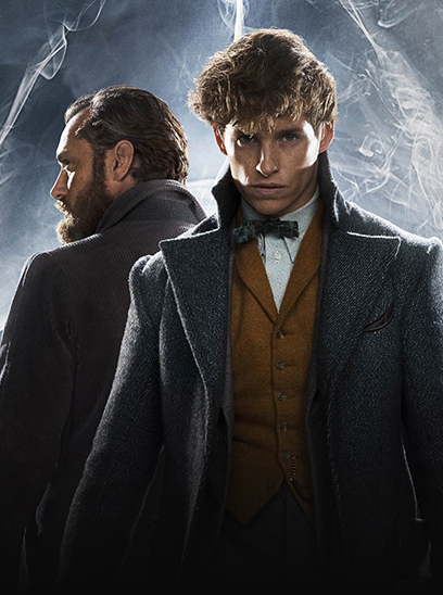 Fantastic Beasts The Crimes of Grindelwald‎ in the Sunbrella IMAX 3D movie theaters in Jordan's Furniture in Natick and Reading Ma
