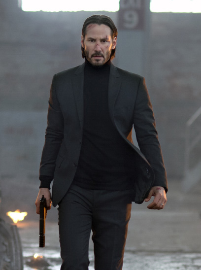 John Wick: Chapter 3 – Parabellum in the Sunbrella IMAX 3D movie theaters in Jordan's Furniture in Natick and Reading Ma