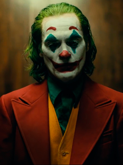 Joker in the Sunbrella IMAX 3D movie theaters in Jordan's Furniture in Natick and Reading Ma