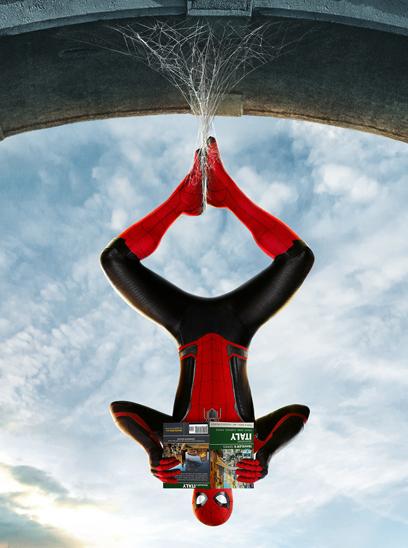 0eca7a1bb3 Spider-Man: Far From Home in the Sunbrella IMAX 3D movie theaters in  Jordan's