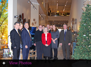 Jordan's Furniture hosts Warwick Tourism Department meeting with Governor and Mayor