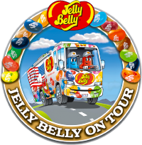 Visit Jelly Belly on tour at Jordan's Furniture in Reading on Thursday July 18