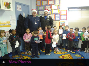 The 2013 Head Start Holiday Gift Program with Jordan's J-Team!