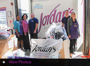 Jordan's customers donate to the 2014 'Ready For School' program