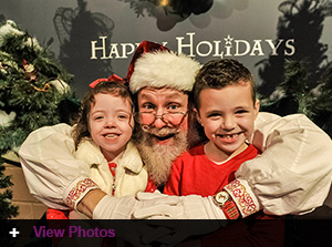 Genesis Foundation holds their 2017 Holiday Party at Jordan's Enchanted Village Event for foundation families with Down Syndrome children