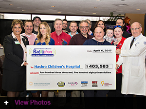 Jordan's Furniture sponsors the 2017 Hasbro Children's Hospital Radiothon