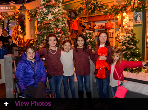 Genesis Foundation holds their 2016 Holiday Party at Jordan's Enchanted Village