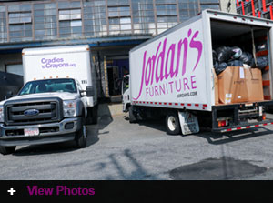 Jordan's Donates to Cradles to Crayons Annual Ready for School Program