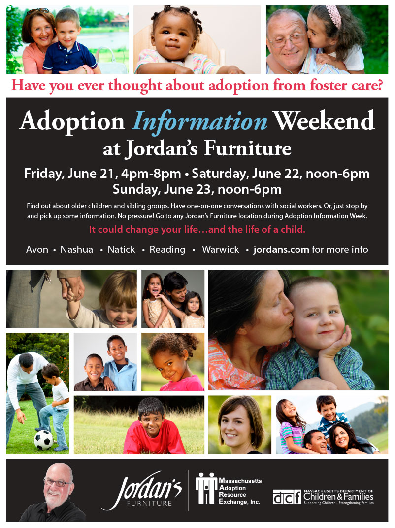 2013 Adoption Week at Jordan's Furniture
