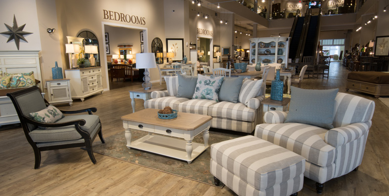 Collections at Jordan's Furniture stores in MA, NH and RI