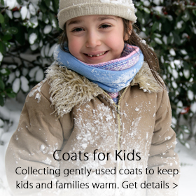 Coats 4 Kids partnership - Jordan's Furniture