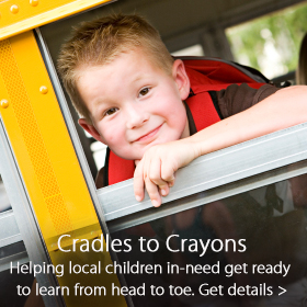 Cradles to Crayons partnership - Jordan's Furniture