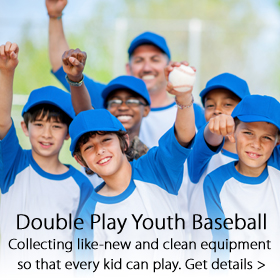 Double Play Youth Baseball program - Jordan's Furniture