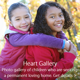 Heart Gallery sponsorship - Jordan's Furniture