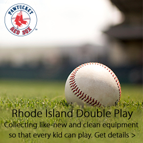 Rhode Island Double Play donation drive sponsored by Jordan's Furniture