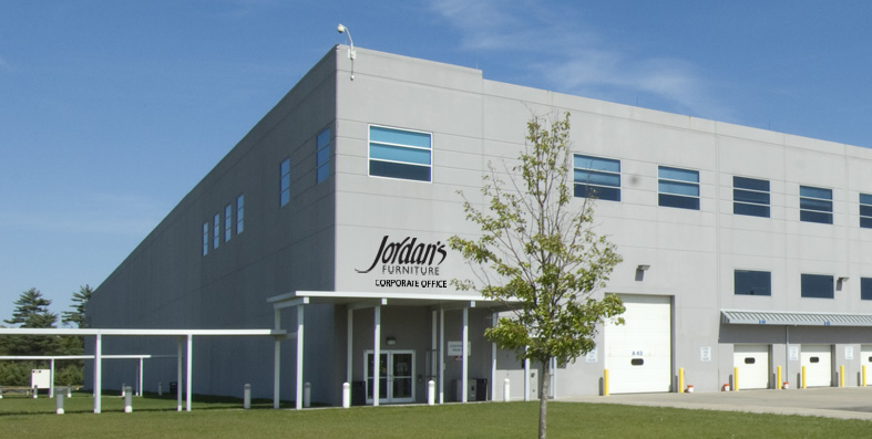 Jordan's Furniture Corportate Headquarters in East Taunton, MA
