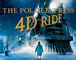 Polar Express 4d MOM ride at Jordan's Furniture in Avon, MA