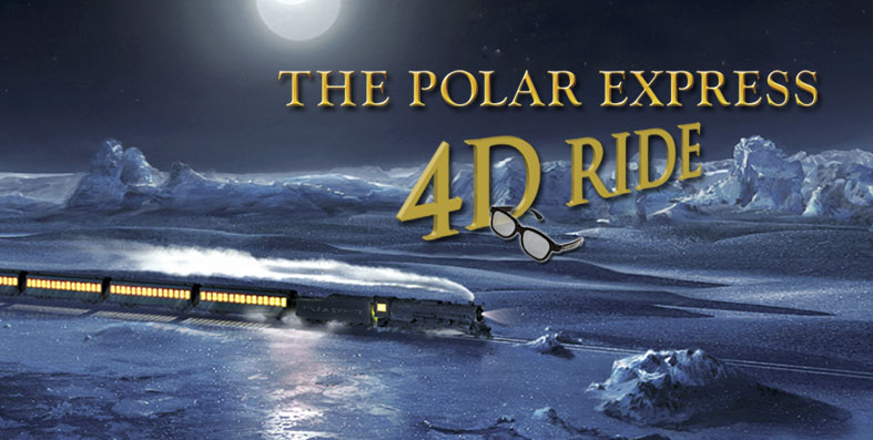Polar Express 4D MOM Ride at Jordan s Furniture in Avon MA