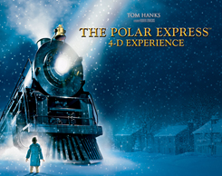 Polar Express 4d MOM ride at Jordan's Furniture in Avon, MA