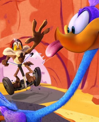 Road Runner & Wile E. Coyote 4-D