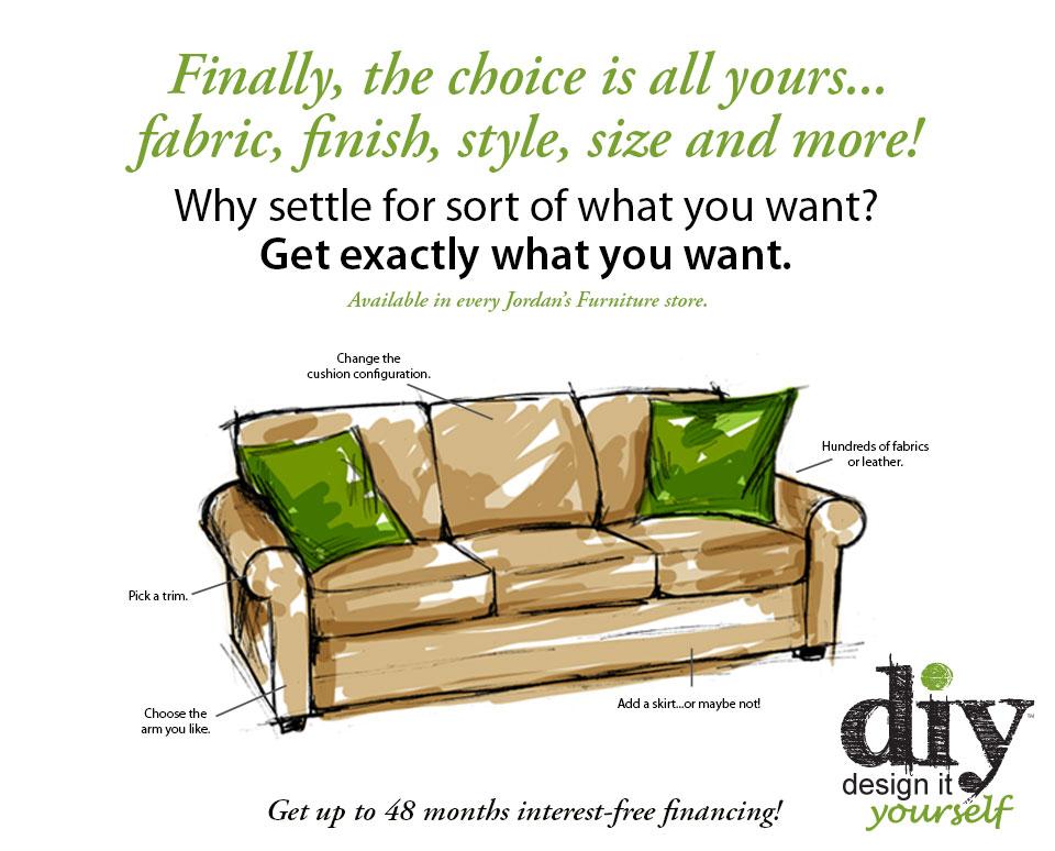 Diy Design It Yourself At Jordan 39 S Furniture Stores In Ma Nh And Ri