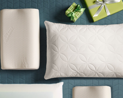 Give Comfort A great night's sleep is always the perfect gift at Jordan's Furniture stores in CT, MA, NH and RI