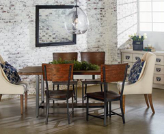 Magnolia Industrial Home collection by Joanna Gaines available  at Jordan's Furniture stores in CT, MA, NH, and RI